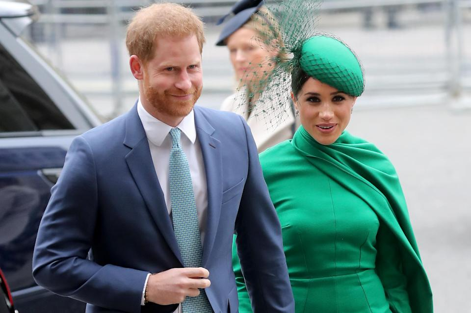 Harry and Meghan are setting up a new nonprofit, Archewell. (Getty Images)