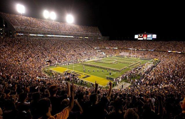 LSU's Tiger Stadium suffered yet another break-in. (Getty)