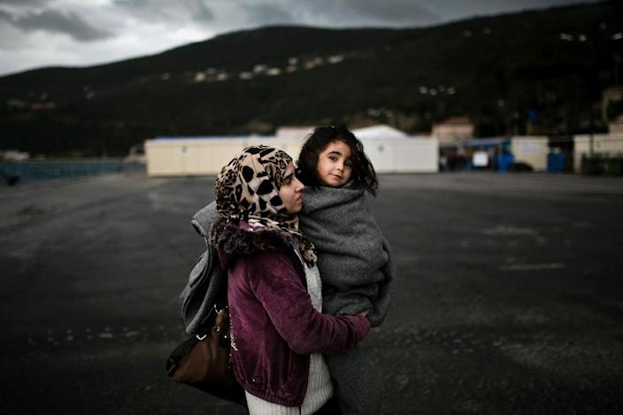 The UN says more than 46,000 people have arrived in Greece so far this year, with more than 170 people killed making the dangerous crossing (AFP Photo/Angelos Tzortzsinis)