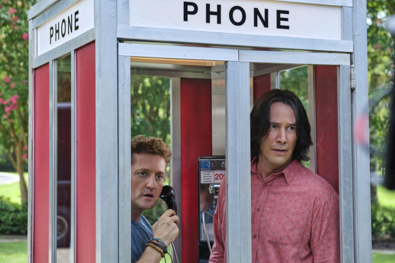 Alex Winter and Keanu Reeves in Bill & Ted Face The Music (WB)