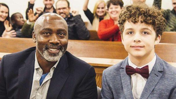 PHOTO: Tony Mutbazi had been in the foster care system since the age of 2. In November 2019, he was adopted by Peter Mutbazi of Charlotte, North Carolina. (Cole Trotter)