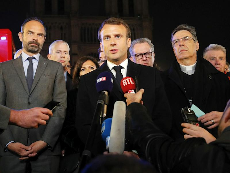 Macron will have to do more than rebuild the Notre Dame if he hopes to unite France