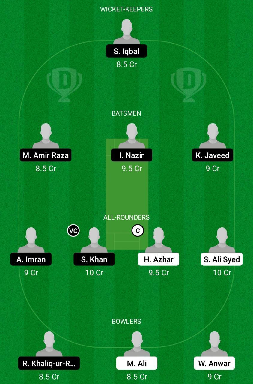 BAR vs PAK Dream11 Prediction Fantasy Cricket Tips Dream11 Team ECS T10 Barcelona