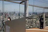 Shibuya Sky opened in 2019 and is 230 metres up