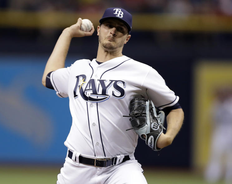 Twins trade for Rays starter Jake Odorizzi