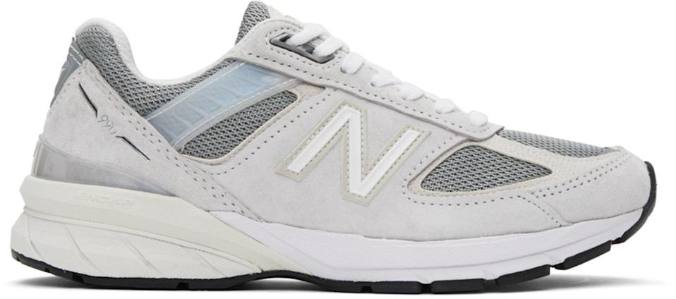 "Because they wore through their New Balance sneakers last year and need the new-and-improved version. <br><br><strong>New Balance</strong> Off-White Made In US 990v5 Sneakers, $, available at <a href=""https://go.skimresources.com/?id=30283X879131&url=https%3A%2F%2Fwww.ssense.com%2Fen-us%2Fwomen%2Fproduct%2Fnew-balance%2Foff-white-made-in-us-990v5-sneakers%2F5325241"" rel=""nofollow noopener"" target=""_blank"" data-ylk=""slk:SSENSE"" class=""link rapid-noclick-resp"">SSENSE</a>"