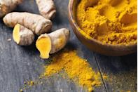 """<p>This golden spice has been shown to provide a myriad of health benefits, including preventing heart disease, Alzheimer's, and cancer, as well as warding off depression and arthritis. Curcumin—the active ingredient in <a href=""""https://www.prevention.com/food-nutrition/healthy-eating/a20635784/turmeric-benefits/"""" rel=""""nofollow noopener"""" target=""""_blank"""" data-ylk=""""slk:turmeric"""" class=""""link rapid-noclick-resp"""">turmeric</a>—is what gives this super-spice its inflammation-fighting powers. Add turmeric to everything from eggs and rice to soups and <a href=""""https://www.prevention.com/food-nutrition/recipes/g25779906/turmeric-smoothies/"""" rel=""""nofollow noopener"""" target=""""_blank"""" data-ylk=""""slk:smoothies"""" class=""""link rapid-noclick-resp"""">smoothies</a> for an added nutritional kick.</p>"""