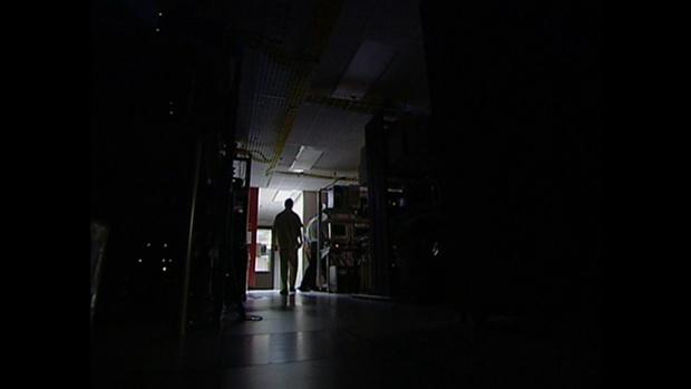 Darkened offices meant work was hard, if not impossible in the days following a massive blackout on Aug. 14, 2003.