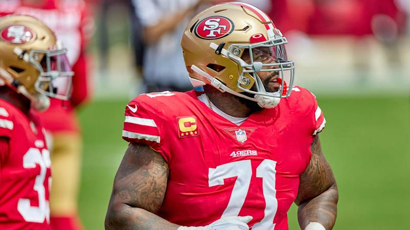 Trent Williams pumped up 49ers with pregame speech before Giants win