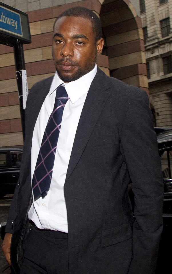 Former Essex County cricketer Mervyn Westfield, 22, arrives at City of London Magistrates Court, in London, on September 23, 2010.