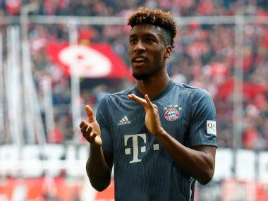 Bundesliga: Kingsley Coman's first-half brace fires Bayern Munich back to top with easy win over Fortuna Duesseldorf