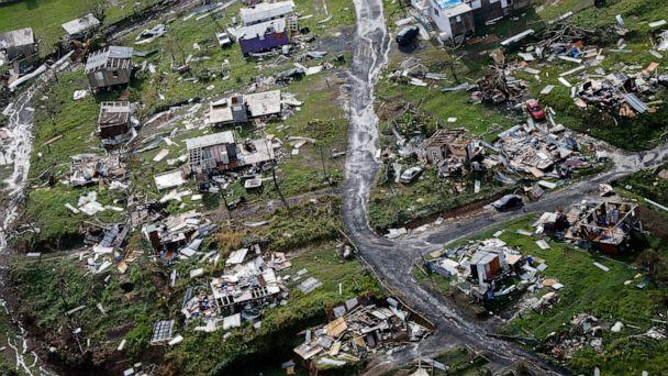 PHOTO: In this Sept. 28, 2017 file photo, the rubble of homes are scattered in the aftermath of Hurricane Maria in Toa Alta, Puerto Rico. (Gerald Herbert/AP, FILE)