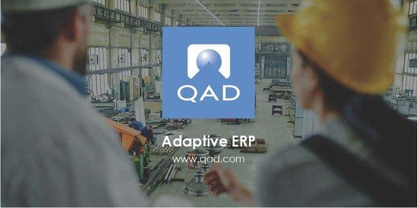 QAD Adaptive ERP headlines the QAD Adaptive Applications suite of solutions designed for global manufacturing companies.