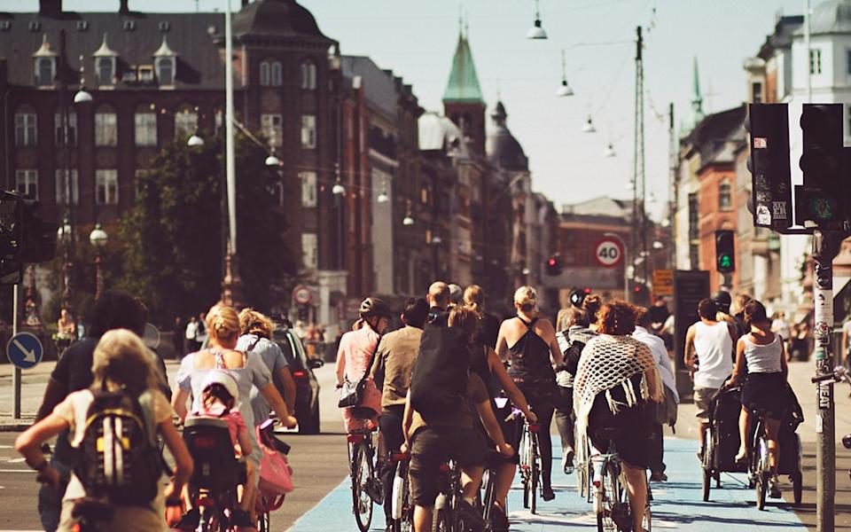 Denmark cycling