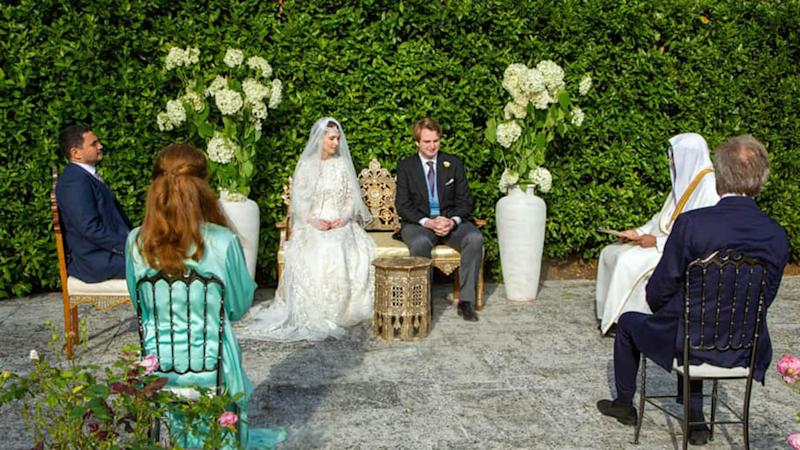 Princess Raiyah of Jordan married British husband Ned Donovan