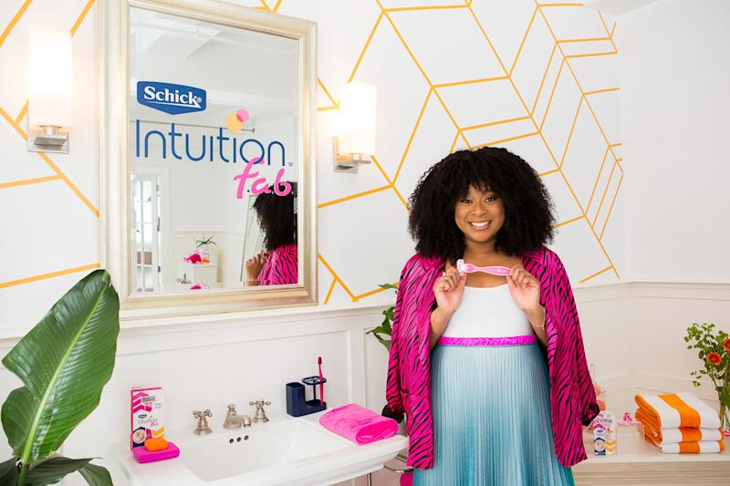 Ironic, but many of us do our best thinking in the shower because we don't have to think! And Schick® Intuition® gets it – they've created the Intuition f.a.b.® razor, which makes shaving so easy and mindless it can lead to mind blowing thoughts – we call them Shave Thoughts. Just ask comedian Phoebe Robinson. With its forwards and backwards design, shaving with Schick® Intuition f.a.b.® is as simple as up, down and done – letting your mind wander to think about whatever. When shaving is this easy, what #ShaveThoughts will you have?