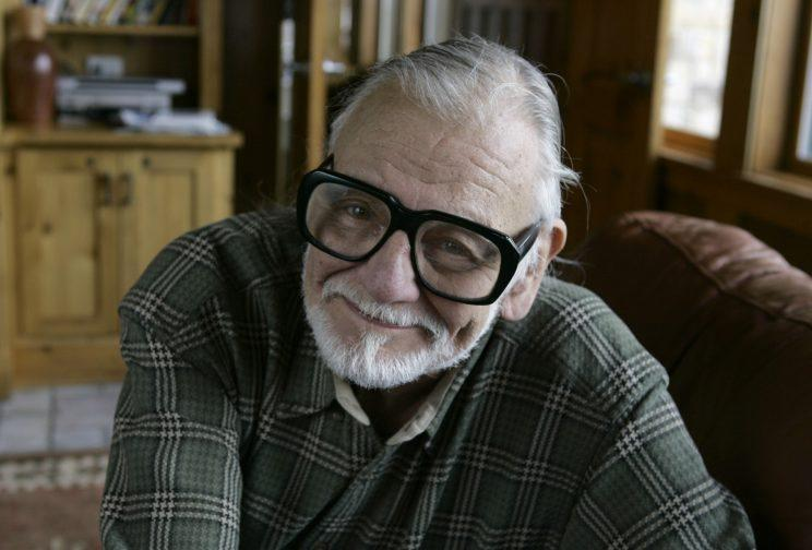 Legend... Stephen King among those paying tribute to the late George A Romero - Credit: AP
