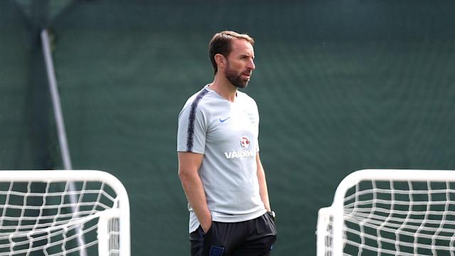 Gareth Southgate seems to have no injury concerns as all his England squad took part in their final training session before playing Tunisia.