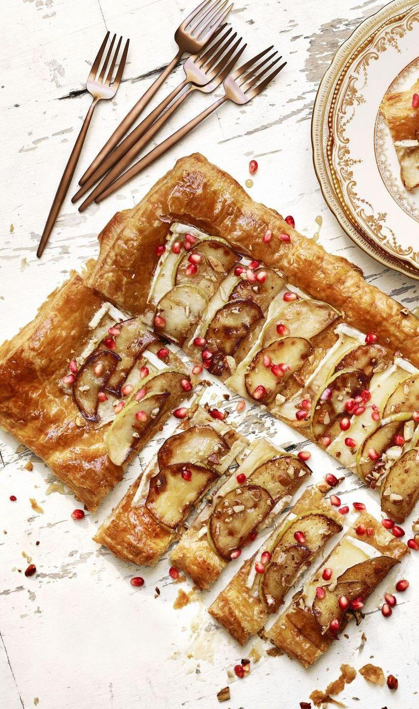 "<p>Here's a good dish for when you need to look fancy with minimal effort, thanks to frozen puff pastry.</p><p><em><a href=""https://www.goodhousekeeping.com/food-recipes/a41395/best-brie-apple-tart/"" rel=""nofollow noopener"" target=""_blank"" data-ylk=""slk:Get the recipe for Lauren Conrad's Brie and Apple Tart »"" class=""link rapid-noclick-resp"">Get the recipe for Lauren Conrad's Brie and Apple Tart »</a></em></p>"