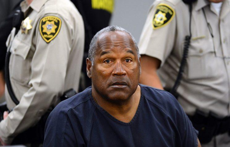 O.J. Simpson during a 2013 evidentiary hearing. (AP)