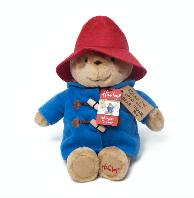 Who doesn't want a cuddly, plush Paddington Bear teddy?! He's 28cm tall, has his signature blue duffel coat and of course, his swing tag. What a cutie.Price: £30Ages: 0+Click here to buy.