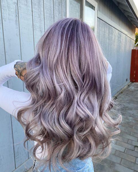 "<p>Everything about this multi-faceted lavender hair color is stunning, but I'm personally obsessed with the <strong><a href=""https://www.cosmopolitan.com/style-beauty/beauty/g26632550/ash-blonde-hair-color-ideas/"" rel=""nofollow noopener"" target=""_blank"" data-ylk=""slk:ash-blonde"" class=""link rapid-noclick-resp"">ash-blonde</a> undertones</strong> (like, what a pretty combination).</p><p><a href=""https://www.instagram.com/p/CBMNImxJH2V/"" rel=""nofollow noopener"" target=""_blank"" data-ylk=""slk:See the original post on Instagram"" class=""link rapid-noclick-resp"">See the original post on Instagram</a></p>"