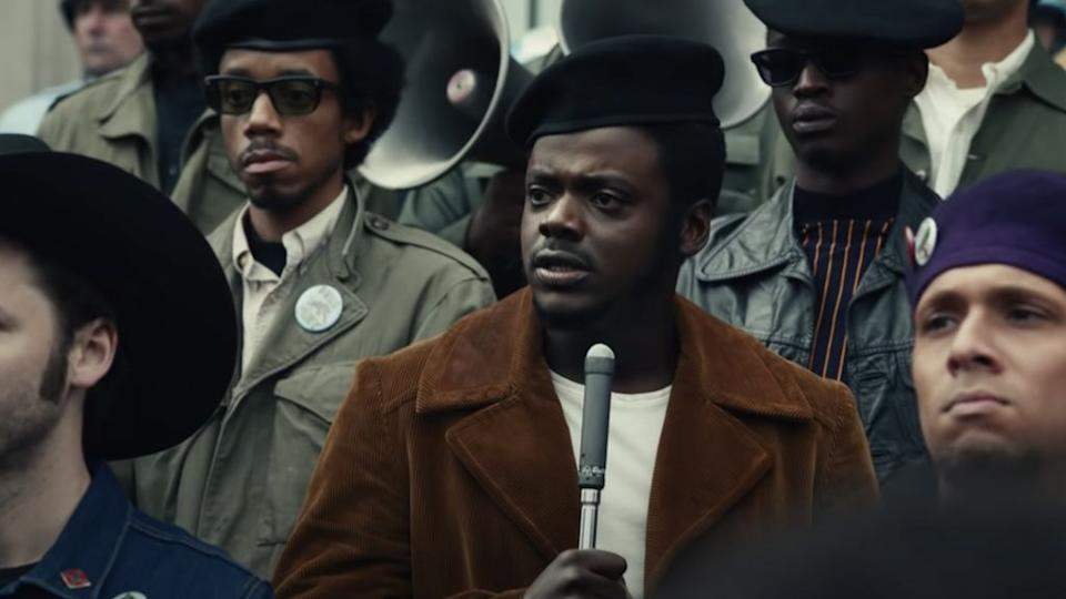 Daniel Kaluuya stars as Fred Hampton Jr in Judas And The Black Messiah (Image by Warner Bros)