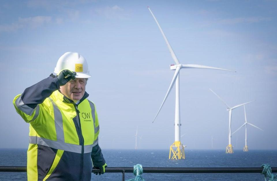 Prime Minister Boris Johnson has promised to nearly quadruple offshore wind by 2030 (Jane Barlow/PA) (PA Wire)