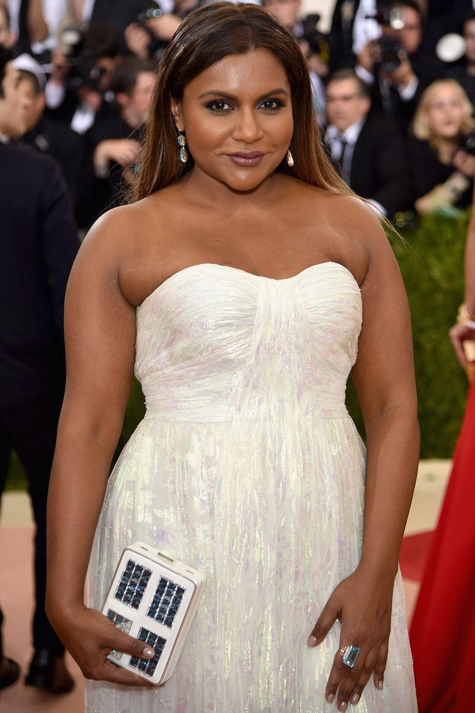 """<p><strong>Born</strong>: Vera Mindy Chokalingam</p><p>Mindy Kaling wasn't born a Mindy. The actress's parents are originally from India and wanted to give their daughter a Hindu name, but Mindy always preferred her middle name. """"Vera isn't just an old Russian lady's name; it's an incarnation of a Hindu goddess,"""" the actress told <em><a href=""""http://www.improper.com/arts-culture/passion-projects/"""" rel=""""nofollow noopener"""" target=""""_blank"""" data-ylk=""""slk:Improper Bostonian"""" class=""""link rapid-noclick-resp"""">Improper Bostonian</a></em> in 2006. """"But they never called me it."""" Then, when the actress was trying to make her way as an actress, she also opted to shorten her last name from Chokalingam to Kaling.</p>"""