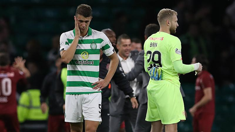 Lennon bemoans 'crazy, suicidal' goals after Celtic crash out of Champions League