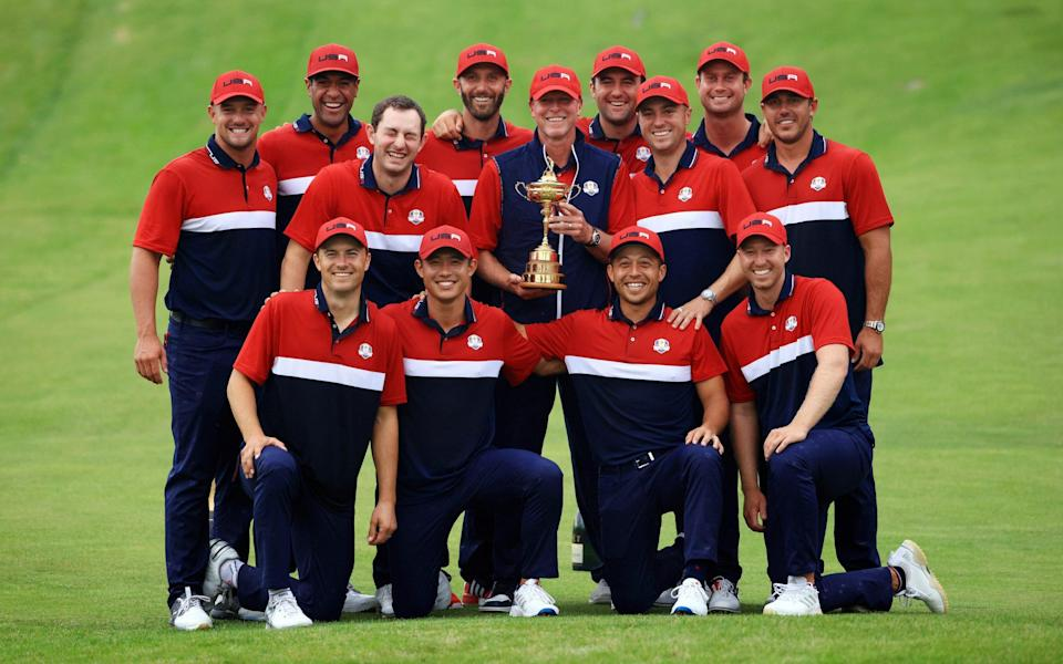 The 43rd Ryder Cup went the way of the Americans - GETTY IMAGES