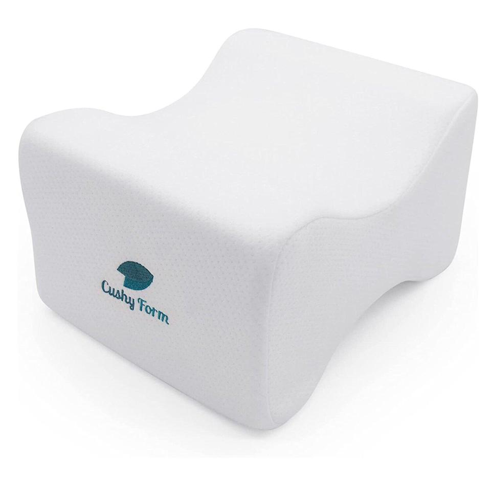 Cushy Form Knee Pillow for Side Sleepers