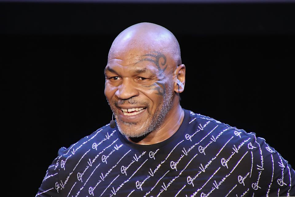 ATLANTIC CITY, NJ - MARCH 06: Mike Tyson performs his one man show