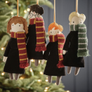 """<p>If you're as big a fan of the <em>Harry Potter</em> series as Ron Weasley is of the the Chudley Cannons quidditch team, we solemnly swear that you'll love these <em>Harry Potter </em>ornaments to hang on your <a href=""""https://www.countryliving.com/home-design/decorating-ideas/tips/g1251/trim-christmas-trees-1208/"""" rel=""""nofollow noopener"""" target=""""_blank"""" data-ylk=""""slk:Christmas tree"""" class=""""link rapid-noclick-resp"""">Christmas tree</a>. Although you'll undoubtedly be decorating it with plenty of store-bought and <a href=""""https://www.countryliving.com/diy-crafts/how-to/g1070/easy-to-make-christmas-ornament-crafts/"""" rel=""""nofollow noopener"""" target=""""_blank"""" data-ylk=""""slk:DIY ornaments"""" class=""""link rapid-noclick-resp"""">DIY ornaments</a> this year, we think these book-inspired versions will add a bit of magic to your evergreen. Another great part about these <em>Harry Potter</em> ornaments? We found them at many different price points, meaning you'll definitely find something that suits your <a href=""""https://www.countryliving.com/shopping/gifts/g2127/cheap-christmas-gifts/"""" rel=""""nofollow noopener"""" target=""""_blank"""" data-ylk=""""slk:budget"""" class=""""link rapid-noclick-resp"""">budget</a>, whether you're buying the bauble for yourself or as a <a href=""""https://www.countryliving.com/shopping/gifts/g5038/last-minute-christmas-gifts/"""" rel=""""nofollow noopener"""" target=""""_blank"""" data-ylk=""""slk:gift"""" class=""""link rapid-noclick-resp"""">gift</a> for someone.</p><p>Looking for a <a href=""""https://www.countryliving.com/shopping/gifts/g2077/christmas-presents/"""" rel=""""nofollow noopener"""" target=""""_blank"""" data-ylk=""""slk:Christmas present"""" class=""""link rapid-noclick-resp"""">Christmas present</a> for your muggle sister or brother? Want to make a child on your list very happy? Check out the house ornaments that will make them feel like Hogwarts' newest witch or wizard. There's even a <a href=""""https://www.countryliving.com/diy-crafts/g5012/babys-first-christmas-ornament/"""" rel=""""nofollow noopener"""" target=""""_blank"""" data-"""