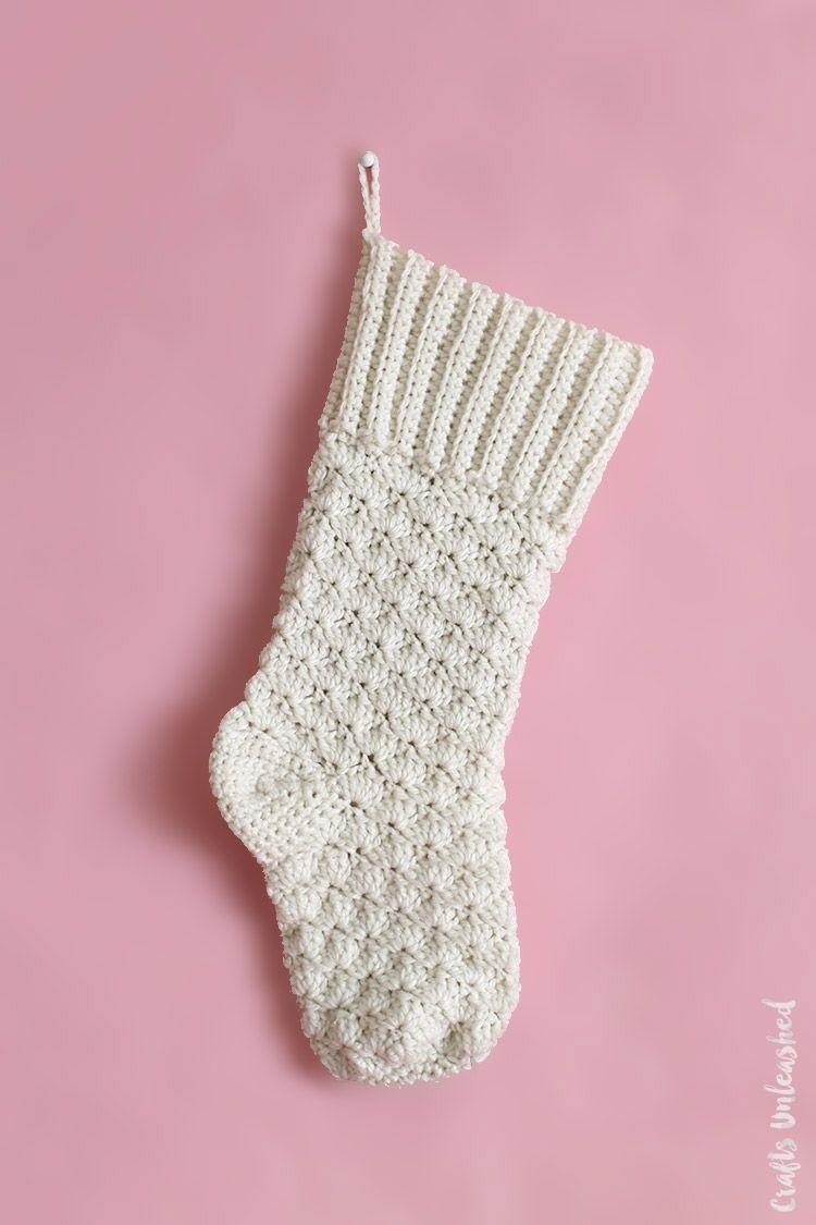 """<p>Whether you want to go for a solid color, or contrasting hues for the cuff, heel and toe, this lovely stocking is sure to reside on your mantel as a cherished family heirloom.</p><p><strong>Get the tutorial at <a href=""""http://blog.consumercrafts.com/craft-basics-main/yarn-crafts/crochet-stocking-pattern/"""" rel=""""nofollow noopener"""" target=""""_blank"""" data-ylk=""""slk:Crafts Unleashed"""" class=""""link rapid-noclick-resp"""">Crafts Unleashed</a>.</strong></p><p><a class=""""link rapid-noclick-resp"""" href=""""https://www.amazon.com/crochet-hook-size-K/s?k=crochet+hook+size+K&rh=n%3A2617941011&tag=syn-yahoo-20&ascsubtag=%5Bartid%7C10050.g.28872655%5Bsrc%7Cyahoo-us"""" rel=""""nofollow noopener"""" target=""""_blank"""" data-ylk=""""slk:SHOP SIZE K CROCHET HOOK"""">SHOP SIZE K CROCHET HOOK</a><br></p>"""