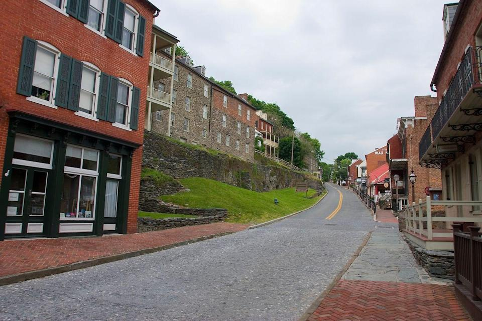 <p>Located at the confluence of the Shenandoah and Potomac Rivers, Harper's Ferry is a quintessential Appalachian Mountain town (the Appalachian Trail even runs through it!). </p>