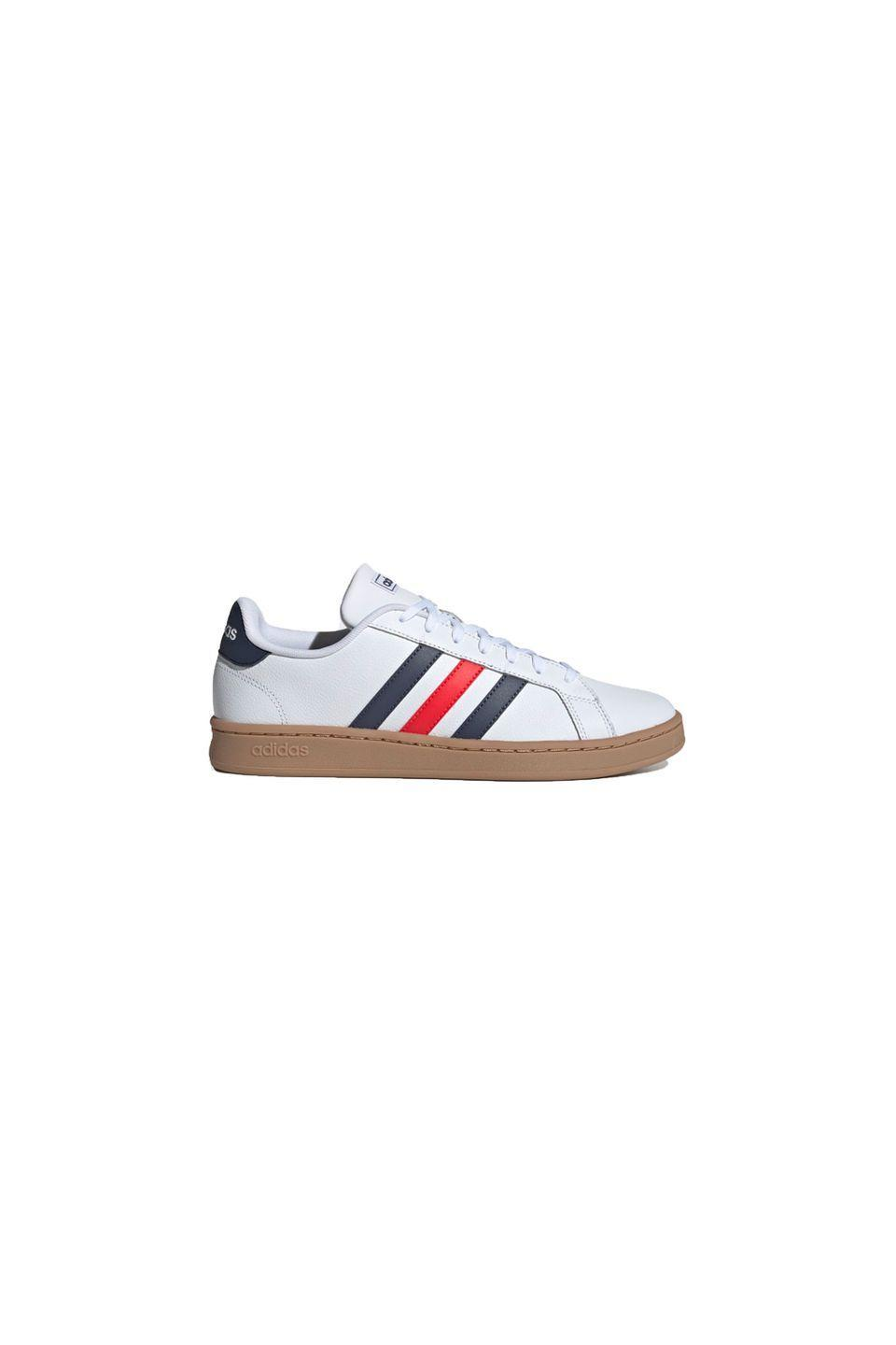 """<p>Trainers, £60, Adidas<br><br><a class=""""link rapid-noclick-resp"""" href=""""https://go.redirectingat.com?id=127X1599956&url=https%3A%2F%2Fwww.adidas.co.uk%2Fgrand-court-shoes%2FEE7888.html&sref=https%3A%2F%2Fwww.townandcountrymag.com%2Fuk%2Fstyle%2Fg34571556%2Fstyle-icon-princess-anne%2F"""" rel=""""nofollow noopener"""" target=""""_blank"""" data-ylk=""""slk:SHOP NOW"""">SHOP NOW</a></p>"""