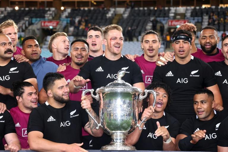 New Zealand have held the trans-Tasman Bledisloe Cup since 2003