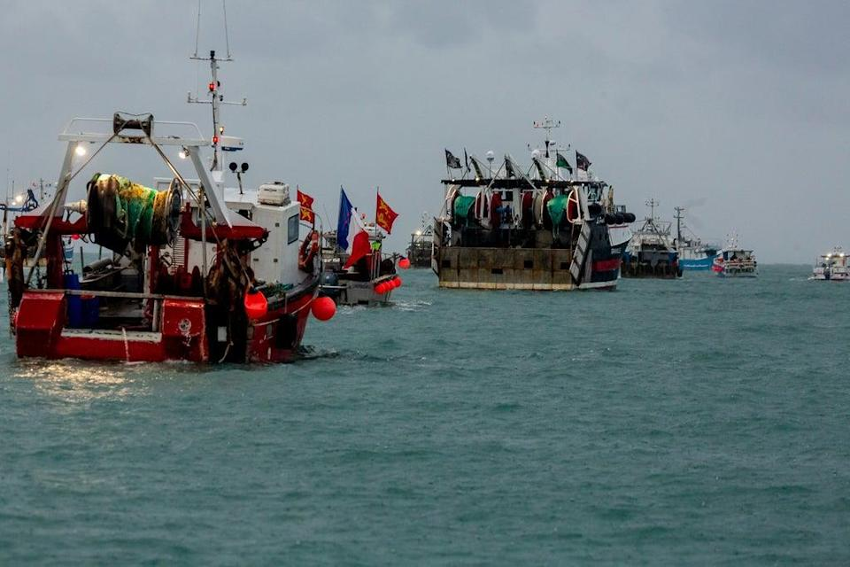 France has been irked after the UK Government and Jersey turned down applications to fish in its waters (Gary Grimshaw/Bailiwick Express) (PA Media)