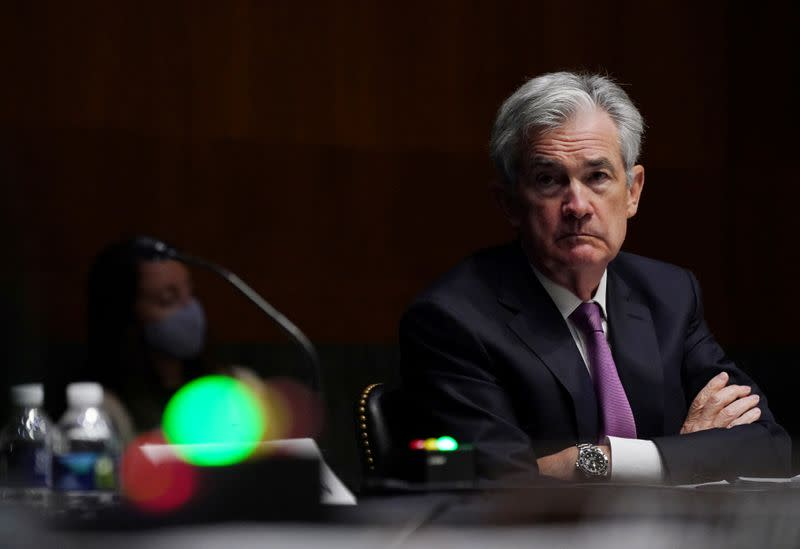 FILE PHOTO: Senate's Committee on Banking, Housing, and Urban Affairs hearing
