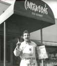 <p>The very 1980s font on the awning is a good indication of when the first location of the Carrabba family empire opened: December 1986, in Houston, TX. </p>