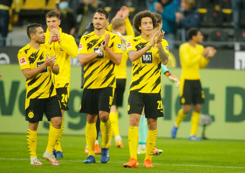 Reyna shines in Sancho's absence, Haaland double for Dortmund