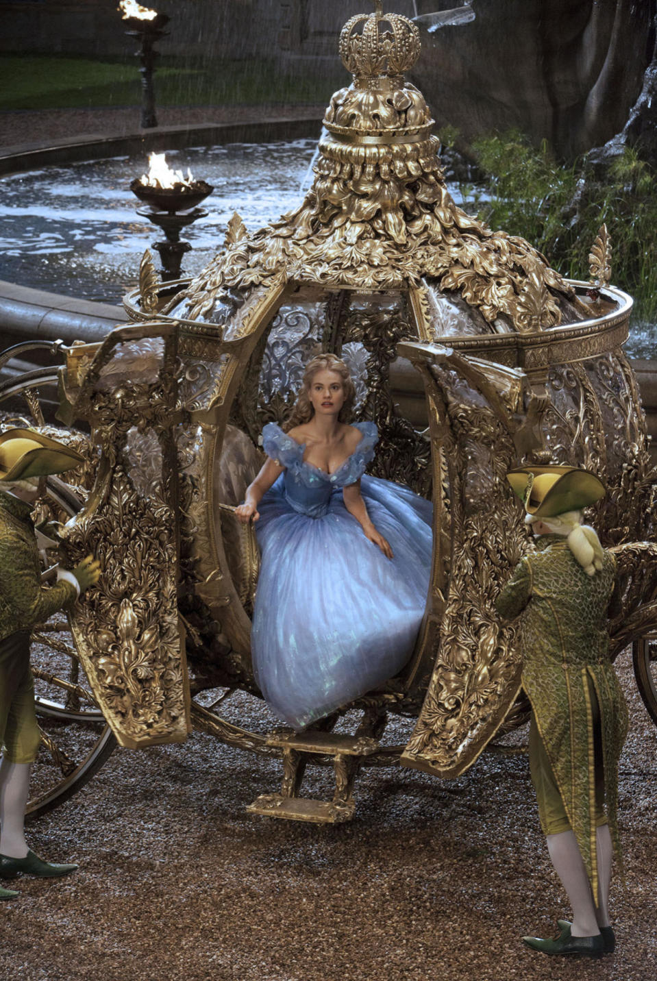 <p>Slowly, studios are catching on to the idea that their half-female movie-going population would like more films about women. And that audience is showing its appreciation: 10 of this year's 25 biggest movies featured female leads or co-leads, including <i>Star Wars: The Force Awakens</i> (No. 2), <i>Inside Out </i>(No. 4), <i>The Hunger Games: Mockingjay – Part 2 </i>(No. 7), and <i>Cinderella </i>(No. 9, pictured). (Photo: Disney)</p>