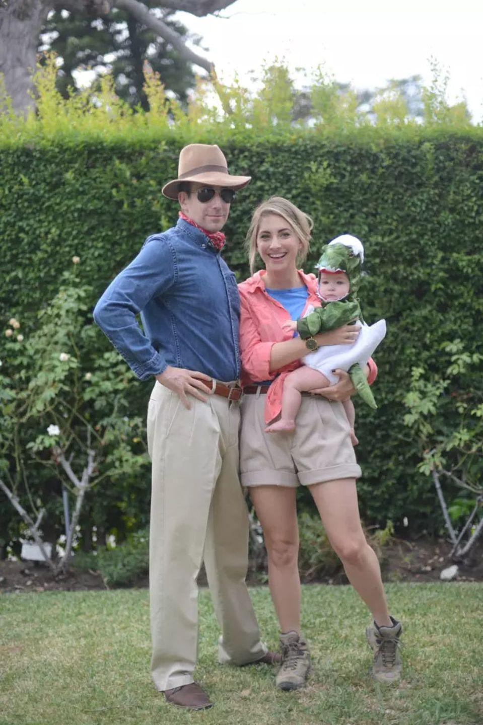 """<p>Believe it or not, a homemade <em>Jurassic Park</em> costume is even better than the one from the newest movie: You've got the option to forego the heels!</p><p><strong>Get the tutorial at <a href=""""https://cupcakesandcashmere.com/series-stories/five-things-halloween-traditions"""" rel=""""nofollow noopener"""" target=""""_blank"""" data-ylk=""""slk:Cupcakes and Cashmere"""" class=""""link rapid-noclick-resp"""">Cupcakes and Cashmere</a>. </strong></p><p><a class=""""link rapid-noclick-resp"""" href=""""https://www.amazon.com/s?k=khaki+shorts&ref=nb_sb_noss_2&tag=syn-yahoo-20&ascsubtag=%5Bartid%7C10050.g.29074815%5Bsrc%7Cyahoo-us"""" rel=""""nofollow noopener"""" target=""""_blank"""" data-ylk=""""slk:SHOP KHAKI SHORTS"""">SHOP KHAKI SHORTS</a></p>"""