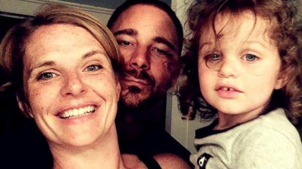 PHOTO: Liz Petrone, of Syracuse, New York, poses with her husband, Nick, and their youngest child, Luca. (Liz Petrone)
