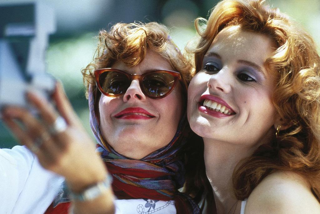"""<a href=""""http://movies.yahoo.com/movie/thelma-and-louise/"""">THELMA & LOUISE</a> <br>Directed by: Ridley Scott <br>Starring: Geena Davis, Susan Sarandon"""