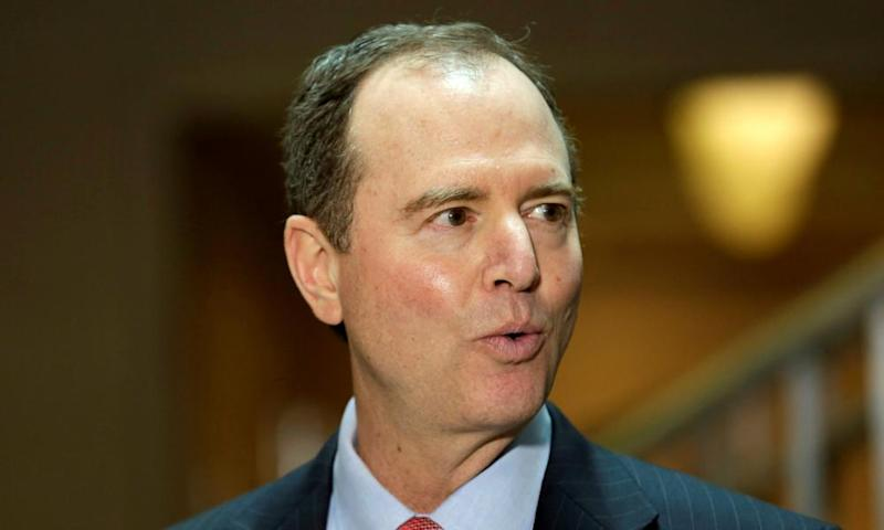Adam Schiff, the ranking Democrat on the House intelligence committee, said Devin Nunes and the White House had made an effort 'to basically say, 'Don't look at me, don't look at Russia, there's nothing to see here'.