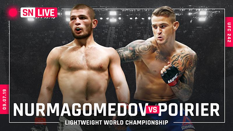 UFC 242 results: Khabib Nurmagomedov unifies lightweight title with dominant third-round submission of Dustin Poirier