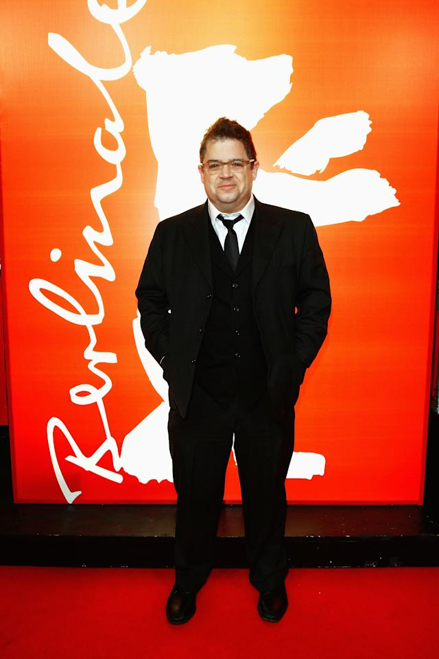 "BERLIN, GERMANY - FEBRUARY 14:  Actor Patton Oswalt attends the ""Young Adult"" Premiere during day six of the 62nd Berlin International Film Festival at the Friedrichstadtpalast on February 14, 2012 in Berlin, Germany.  (Photo by Andreas Rentz/Getty Images)"