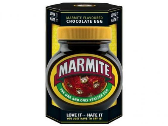 The Marmite Flavour Chocolate Egg available at Asda (Asda)